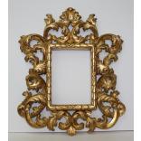 Specchiera miniatura barocca